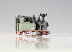 PMT/Technomodell Schmalspur Lok I K, Kgl. sächs. Sts. E. B., grün/schwarz, H0e