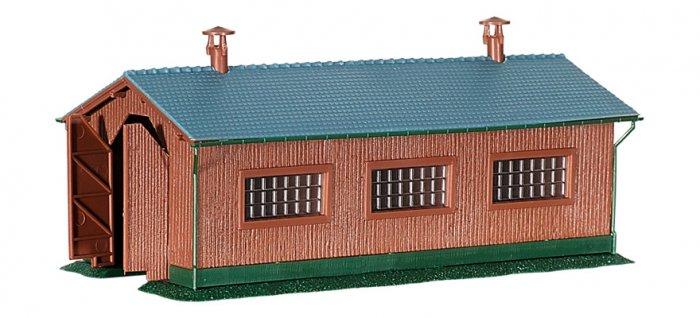 Kibri 37802 Bausatz einständiger Lokschuppen, Nenngröße N