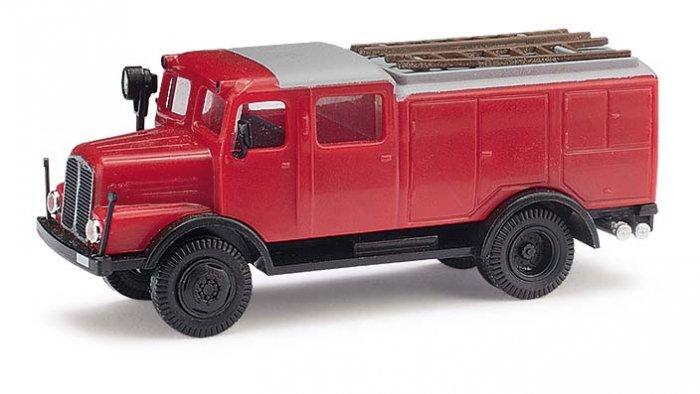 Busch/ESPEWE IFA S4000 TLF Feuerwehr H0