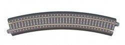 Tillig Bettungs-Gleisstück Bogen R21,  R 353 mm /30 Grad, Spur TT