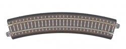 Tillig Bettungs-Gleisstück Bogen R11, R 310 mm / 30 Grad, Spur TT