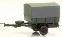 Einachsanhänger mit Plane, Militär, NVA, Nenngr. TT