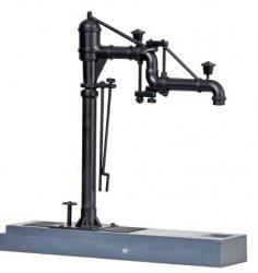 Kibri 39422  Bausatz für 2 Wasserkräne mit Gelenkausleger , Nenngröße H0