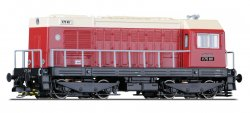 Tillig 02627  Diesellok V75 011 der DR, Ep. III Spur TT