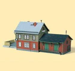 Auhagen 13275 Bausatz Empfangsgebäude Bahnhof Hagenau - TT