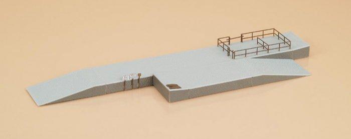 Auhagen 13271 Bausatz  Laderampe, Nenngröße TT