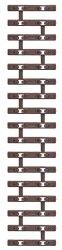 10 Stück Schmalspur Schwellenband je 80mm Spur TTe