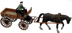 Artitec 387.57 Pferdefuhrwerk (Marktkarren) Nenngröße H0