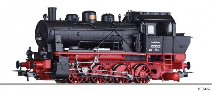 Tillig BR 92 2601 (ELNA) DRG, Ep. II Spur H0