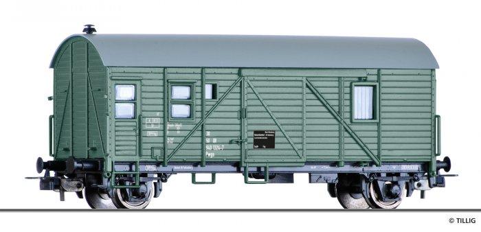 Tillig Güterzugpackwagen Pwg 9400 der DR, Ep. IV, Spur H0
