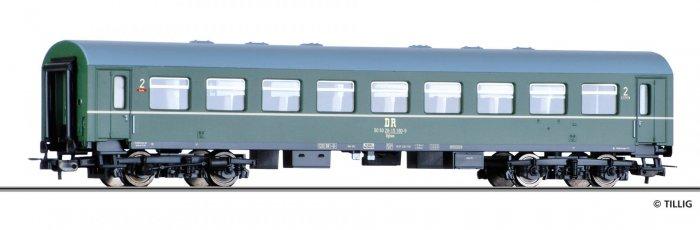 Tillig Reisezugwagen 2. Klasse Bghwe, Ep. IV DR Spur H0