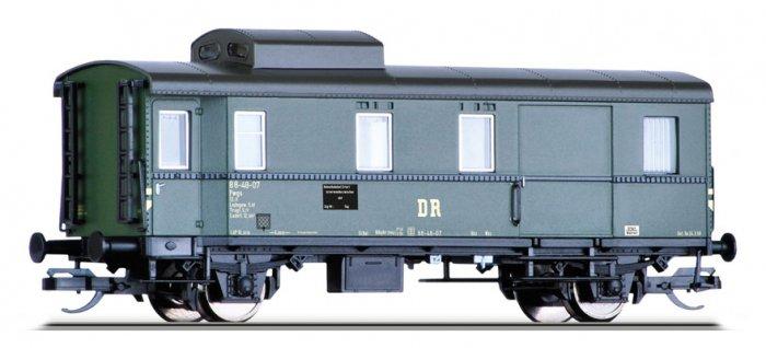Tillig 13480 Güterzugpackwagen Pwgs der DR, Ep. III, Spur TT