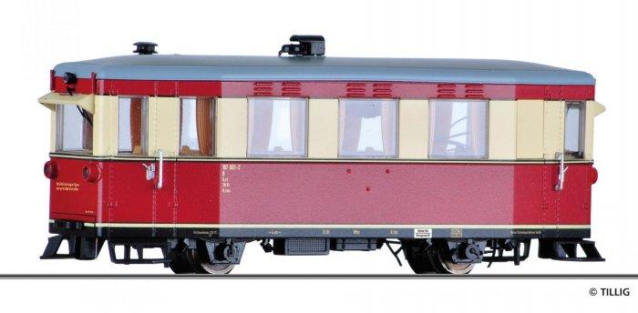 Tillig Triebwagen T1 der Harzer Schmalspurbahn, Ep. V, H0m