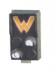 Erbert 033713 HL Zwerg Rangierhaltesignal Ra11a+Ra12 DR, mit weißen LED`s  Nenngröße TT