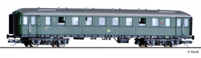 Tillig Reisezugwagen - EIlzugwagen 2. Klasse B4ü Ep. III, DR, Spur TT