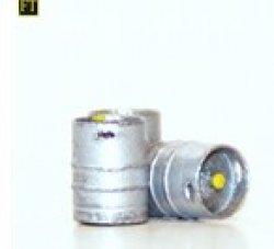3 KEG Aluminium Getränkefässer, Nenngr. H0