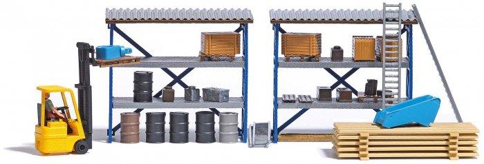 Busch Gabelstapler Set Nenngröße H0