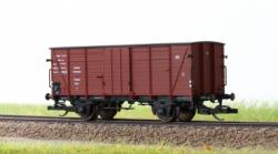 "Hädl Flachdachgüterwagen sächs. Bauart, ""Hannover"" der DRG Ep. II Spur TT"