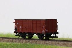 Hädl Flachdachgüterwagen sächs. Bauart, G der DR Epoche III, Spur TT