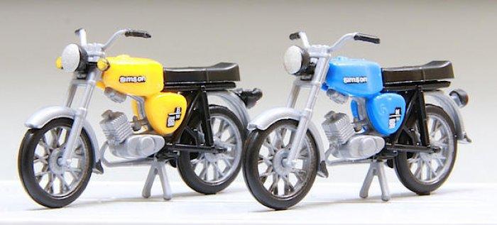 Kres 2 Stück Mopeds Simson S50, Nenngröße H0