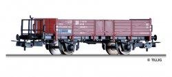 Tillig Offener Güterwagen Ow mit Bremserbühne der DR, Ep. IV, Spur H0