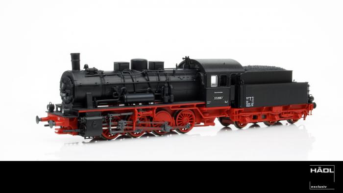Hädl Dampflok BR 55 der DR (ex preuss. G 8.1) Epoche III, analog Spur TT