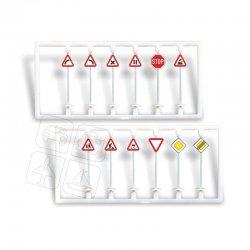 Igra Fertigmodell Verkehrsschilder (1) Set , Nenngröße H0