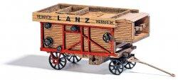 """Busch Fertigmodell Dreschmaschine """"Lanz"""", Nenngröße H0"""
