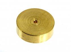 Schwungmasse, Ø13,10 x B=3,0mm Bohrung Ø: 1,0mm, Material Messing