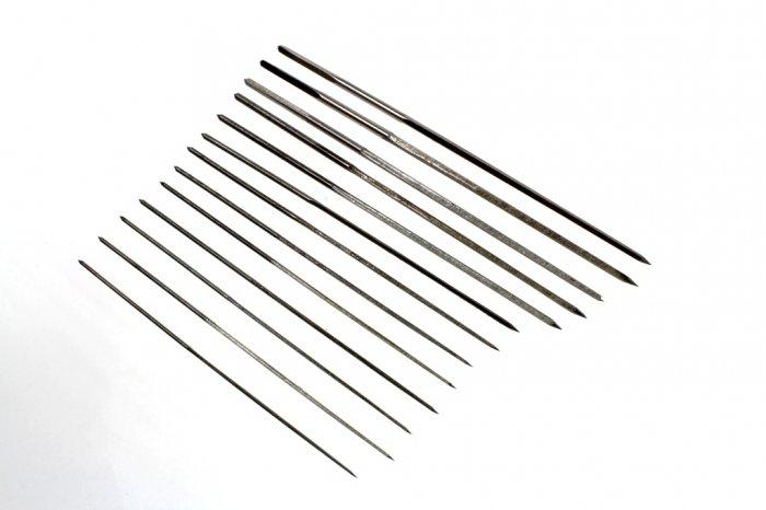Satz Reibahlen für den Modellbau - 12 teilig- 0,6 - 1,9mm