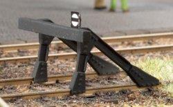 Auhagen 41663 filigraner Bausatz für 2 Stück Prellbock Spur H0
