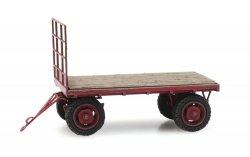 Artitec 312.021 Fertigmodell, Anhänger, Plattenwagen für Traktor, Nenngröße TT