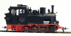 Veit 71011 Fertigmodell Schmalspur Rügenlok 99 4511, Nenngröße H0e, Spurweite 9mm, (1:87)