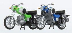 KRES 10251 Set 2 Motorräder TS 250 (grün, blau) Nenngrße H0 (1:87)
