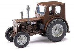 Busch 210006405/Mehlhose Fertigmodell Traktor Pionier H0, braun Nenngröße 1:87