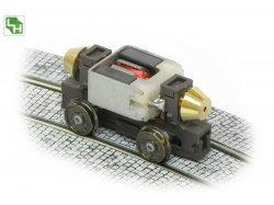 Leopold Halling ANT-VAR-H0e/ oder N - Vario Antrieb - Fahrwerk 2-achsig, Achsabstand 23mm, 26mm und 30,4mm variabelSpurweite 9mm