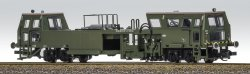 Fischer-Modell 26013109 - Gleisstopfmaschine UNIMAT- Militärausführung, NVA, Ep.IV Spur TT