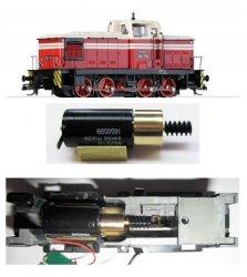 Motorisierungssatz mit Glockenankermotor für Diesellok V 60  der DR von Jatt -  Spur TT