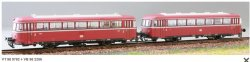 KRES 9802D VT 98 + VB 98 Nebenbahn-Triebwagenzug (Schienenbus) Ep. III DB Digital (DCC), Spur TT