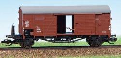 Hädl 113604 Gedeckter Güterwagen Gklm der DR, Epoche IV, Spur TT