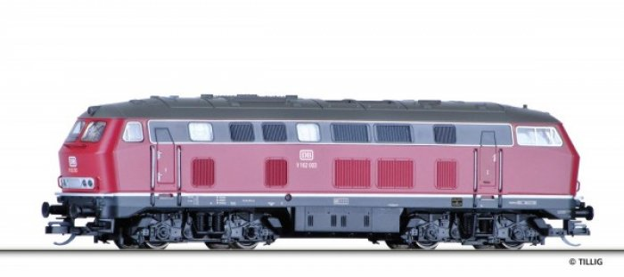 Tillig 02743 - Diesellok V 162 003, DB, Epoche III, Spur TT