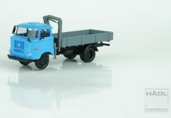 LKW  IFA W50L, Holzpritsche mit Ladekran, Nenngröße TT