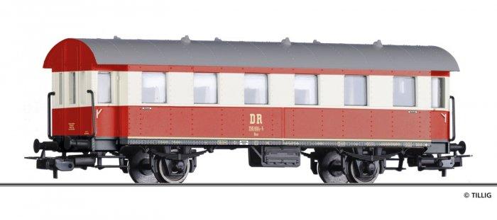 Tillig 74963 - Beiwagen Baa, DR Epoche IV , Spur H0 (1:87)