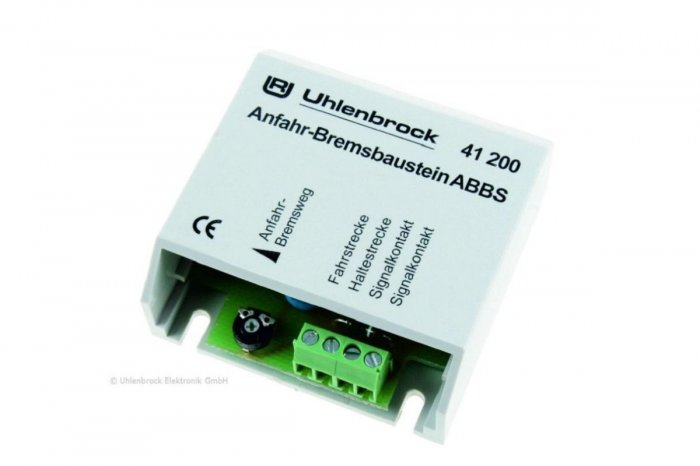 Uhlenbrock 41200 - ABBS Anfahr-Bremsbaustein N, TT und H0