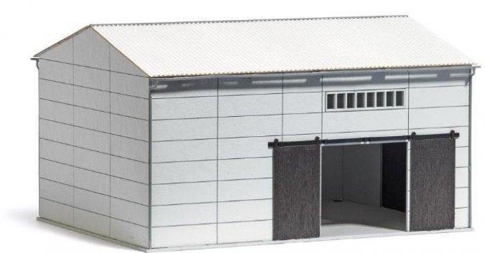 Busch 8765 - Bausatz, LPG Bergehalle/ Lagerhalle, Nenngröße TT