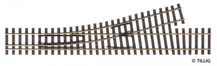 Tillig 85184 - Normalspur-Schmalspur Abzweigung links, 228mm, H0/H0m