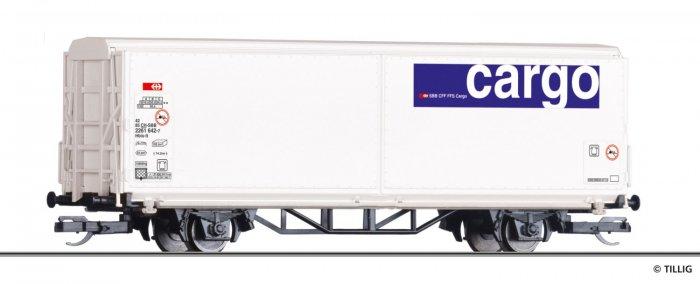 Tillig 14848 - Schiebewandwagen Hbis-tt, SBB-Cargo, Epoche VI, Spur TT