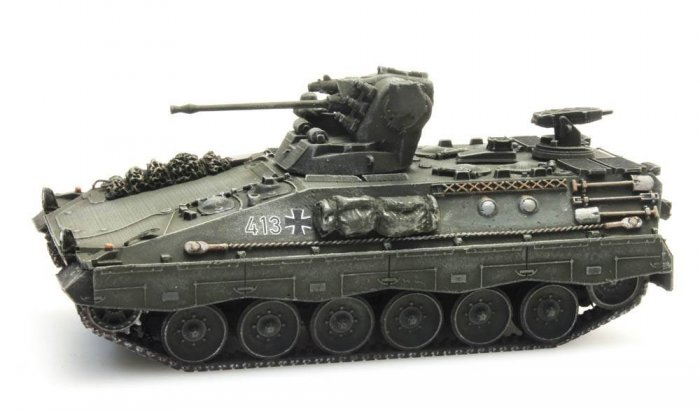 Artitec 6870085- Fertigmodell SPz Marder 1A1 MILAN , H0
